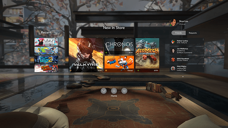 Oculus Store обзор