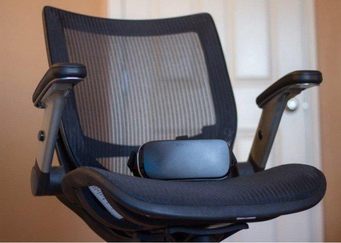 Samsung Gear VR советы кресло