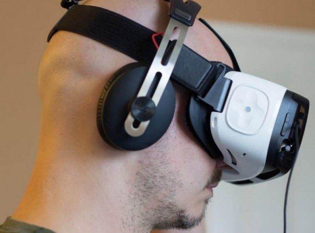 Samsung Gear VR наушники
