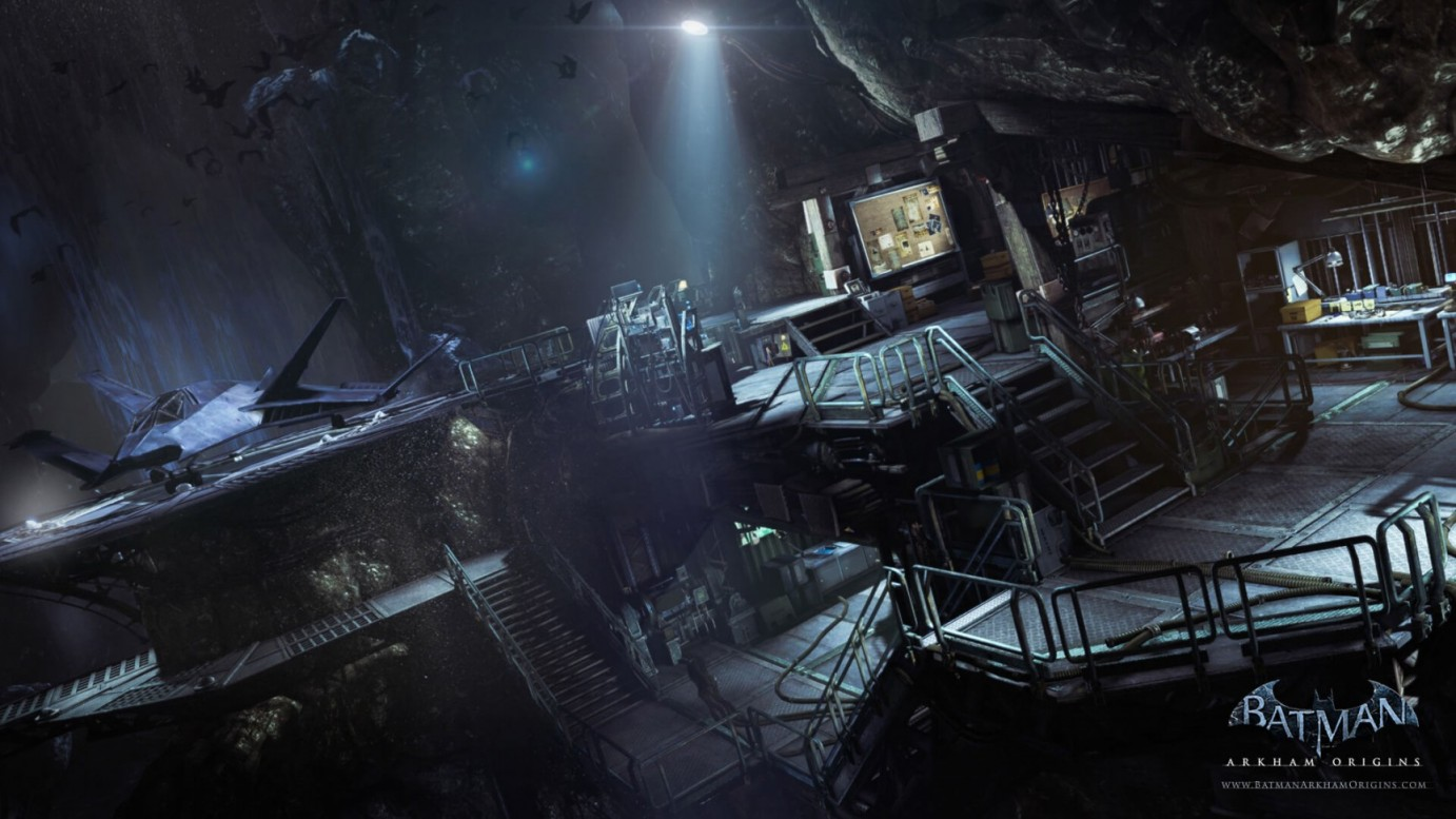 batman-arkham-batcave
