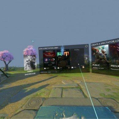 DOTA 2 VR Hub