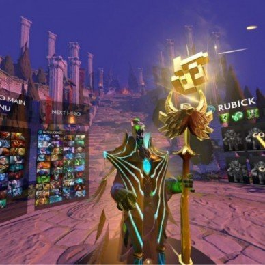 Dota VR Hub
