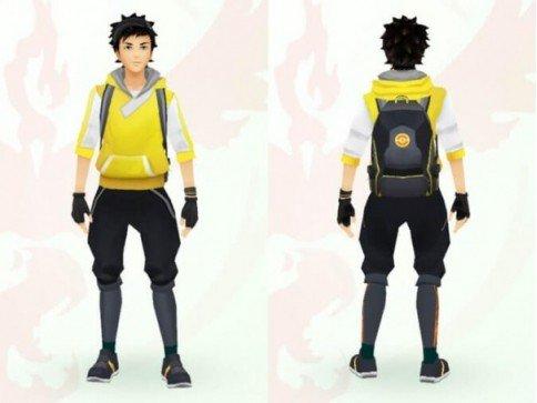 кастомизация аватара Pokemon GO