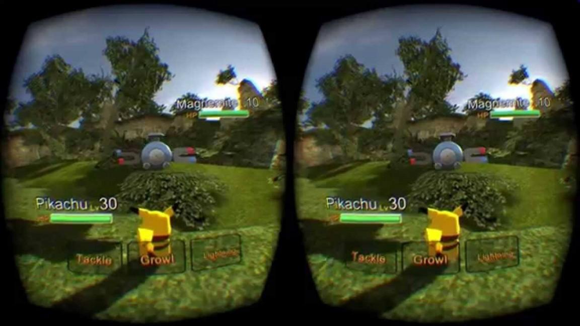 Pokemon виртуальная реальность