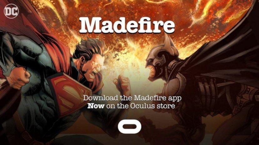 Madefire комиксы