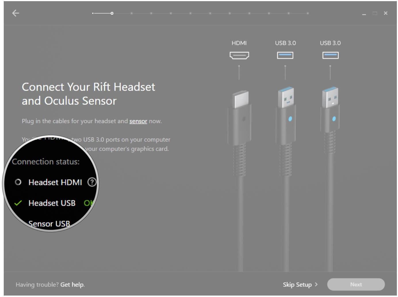 Как исправить проблемы Oculus Rift c HDMI и обновить драйверы