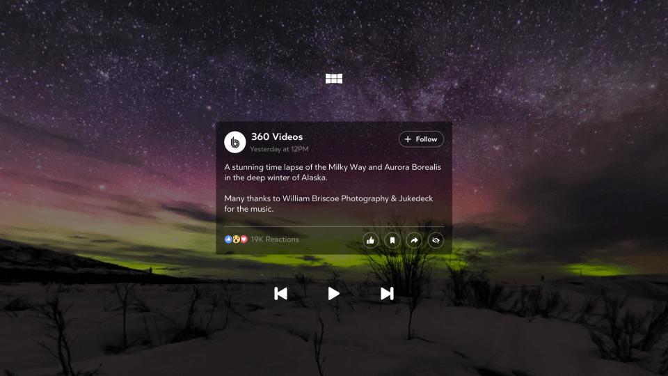 Facebook выпустил приложение для просмотра 360° фото и видео