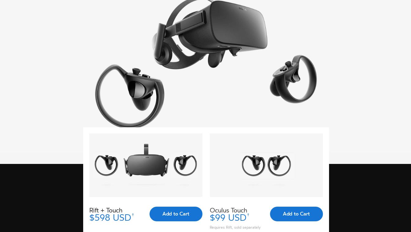 сколько стоит шлем Oculus Rift