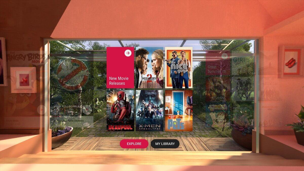 Лучшие приложения для просмотра фильмов и видео на Daydream
