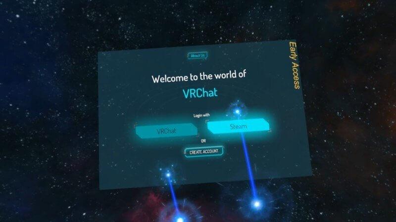 как войти в VRChat