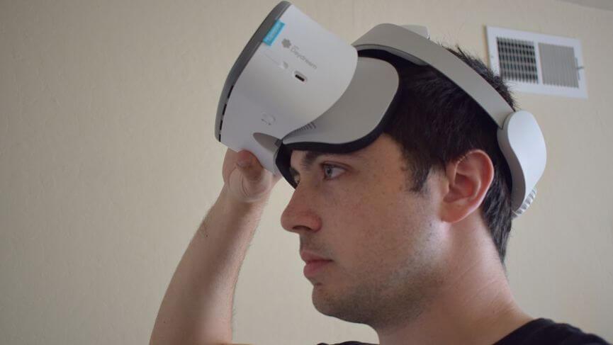 Обзор Lenovo Mirage Solo: Дизайн, Room tracking, Игры, Батарея