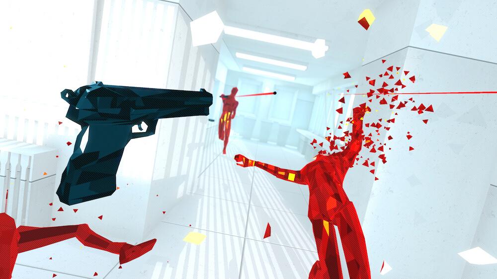OC5: Superhot VR, будто, изначально разрабатывался для Oculus Quest