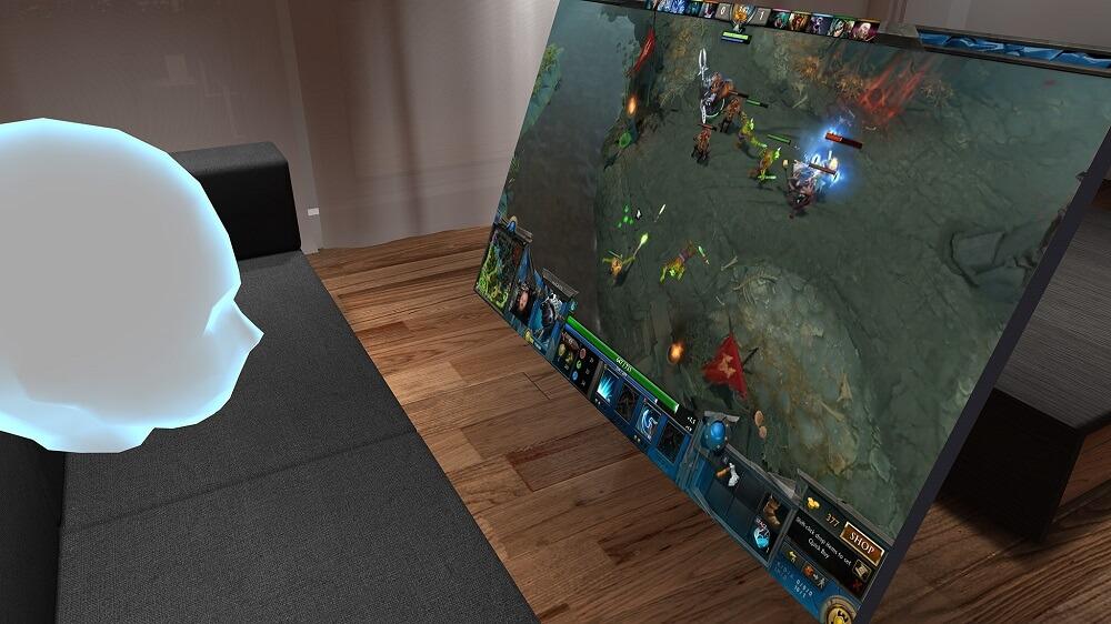 BigScreen позволяет полноценно использовать ПК внутри VR