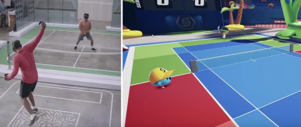 OC5: Tennis Scramble на Quest: VR обзавелся теннисом как у Nintendo Wii