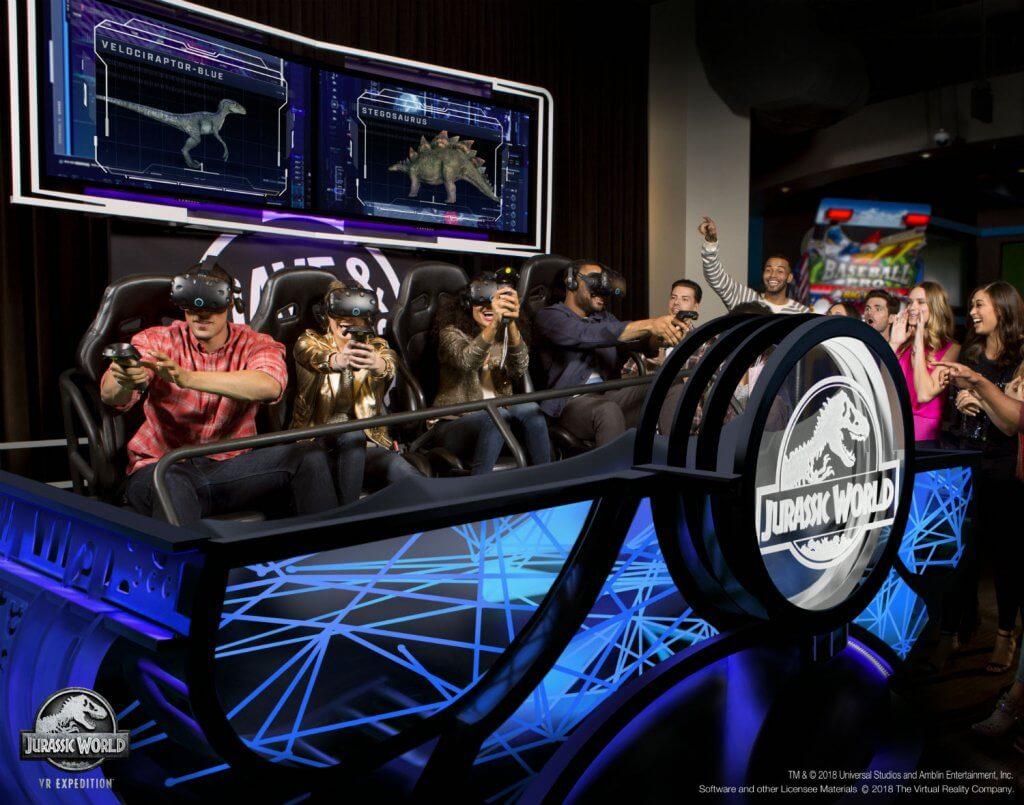 Dave & Buster's представила новый аттракцион - Dragonfrost VR