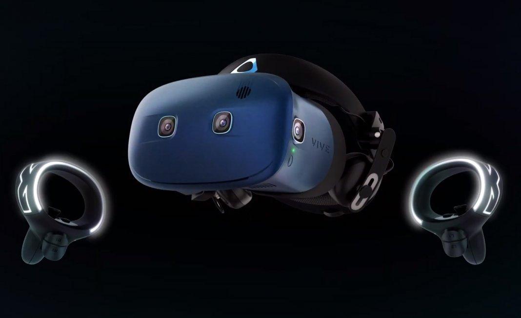 HTC представила VR-шлем Vive Cosmos в рамках CES 2019