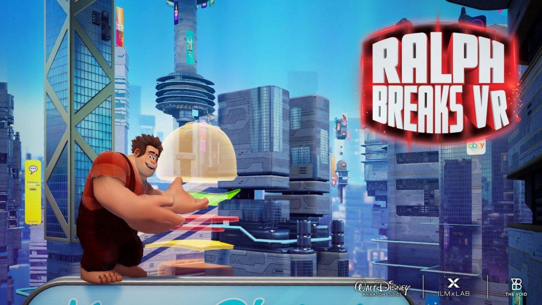 Обзор Ralph Breaks VR: семейный аттракцион VOID