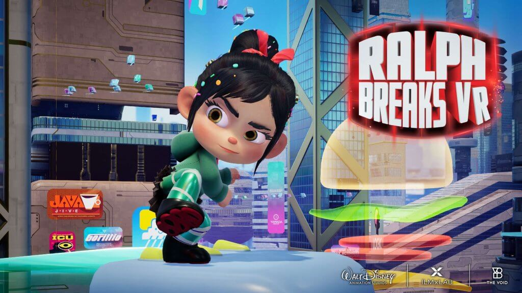 Семейный Ralph Breaks VR