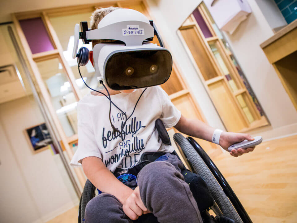 Starlight использует VR для замены обезболивающих тяжелобольным детям