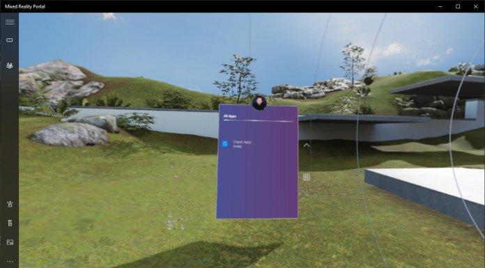 Традиционные настольные приложения перейдут в Windows Mixed Reality