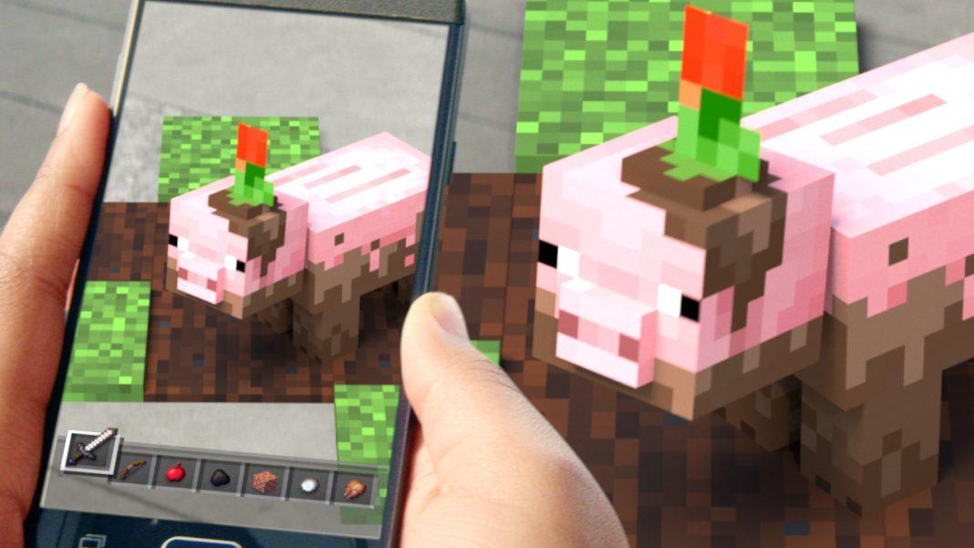 Minecraft Earth - это AR спин-офф, который позволяет вам строить в реальном мире